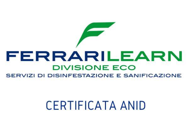 La Divisione Eco di Ferrarilearn è certificata ANID