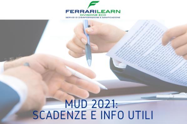 MUD 2021: scadenze e informazioni utili