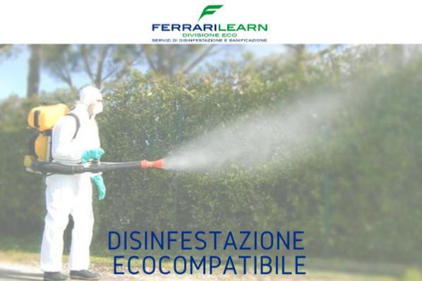 Ferrarilearn: disinfestazione ecocompatibile, selettiva, sicura